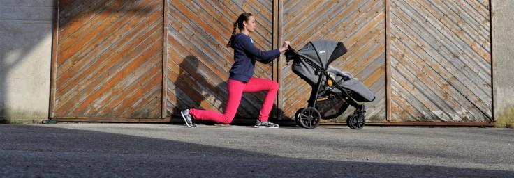 Ausfallschritt Mamis machen Sport