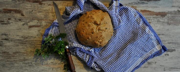 Kräuter Brot 4