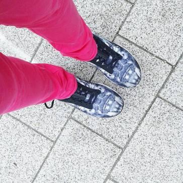 Schuhe an ...