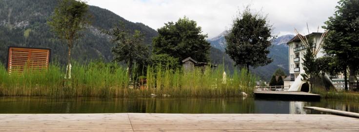 Garten und Badeteich