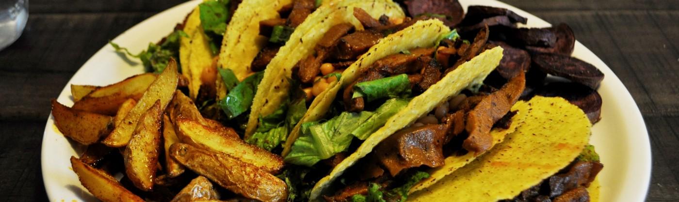 Schnelle vegane küche  Taco Shells: schnell, einfach & vegan – kinderlachen&elternsachen