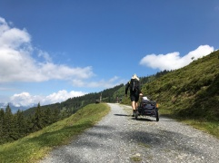 Wanderweg zur Kaseggalm