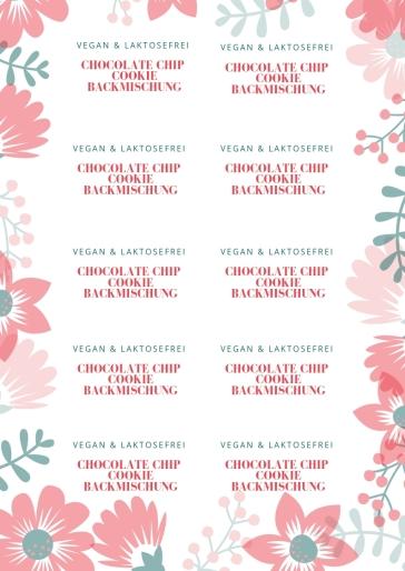 kopie von chocolate chip cookie backmischung